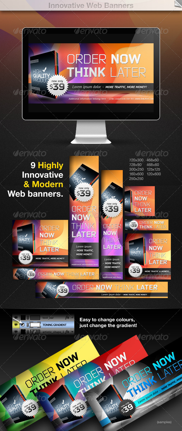 GraphicRiver Innovative Web Banners 1839196