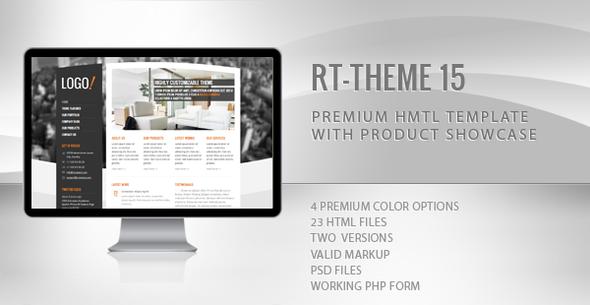 RT-Theme 16 Premium HTML5 Template - 6
