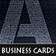 """Initials"" Corporate  Business Cards - GraphicRiver Item for Sale"