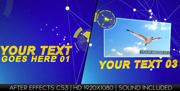 VideoHive Dynamic Lines 1846989
