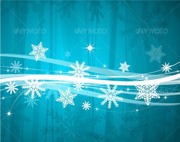 GraphicRiver Christmas background 71894