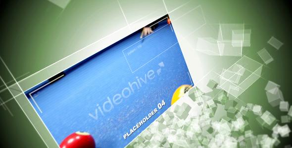 VideoHive Cube Flocks 1848030