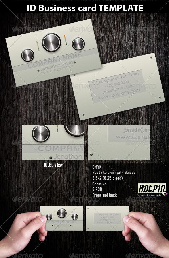 GraphicRiver Dj Producer Musician Business Cards 2 218151