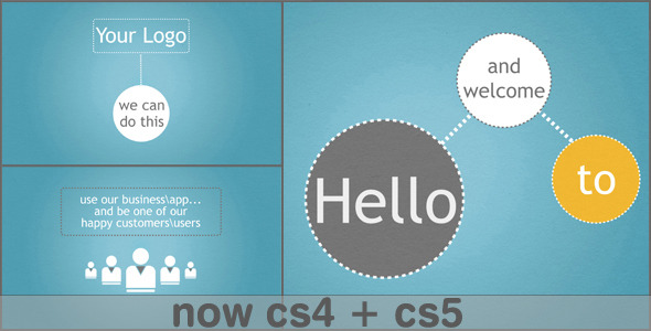 After Effects Project - VideoHive Clean Business App Service Promotion 1765582