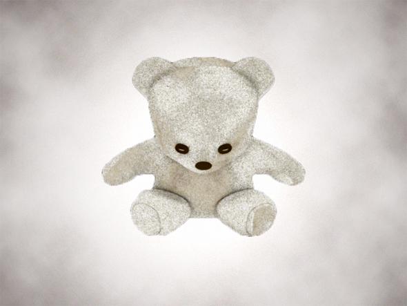Simple Teddy Bear - 3DOcean Item for Sale