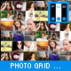 Photo Grid Template - ActiveDen Item for Sale