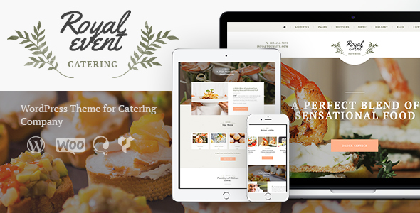 Event Planner & Catering Company By ThemeREX