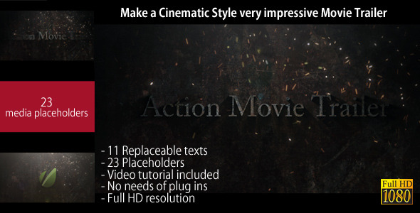 After Effects Project - VideoHive Action Movie Trailer 1860815