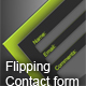 Flipping Style Contact Form  - ActiveDen Item for Sale