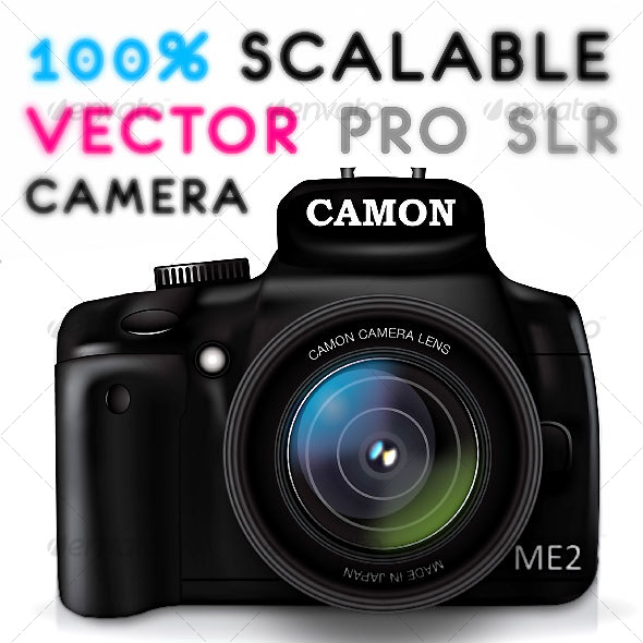 GraphicRiver PRO CAMERA VECTOR GRAPHIC 72435