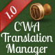 CWA: Easy Translation Manager add-on - CodeCanyon Item for Sale