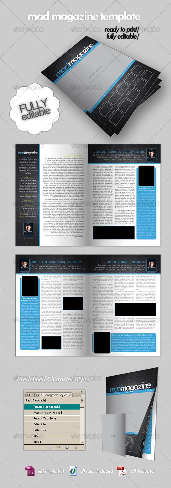 GraphicRiver Magazine Template 72601