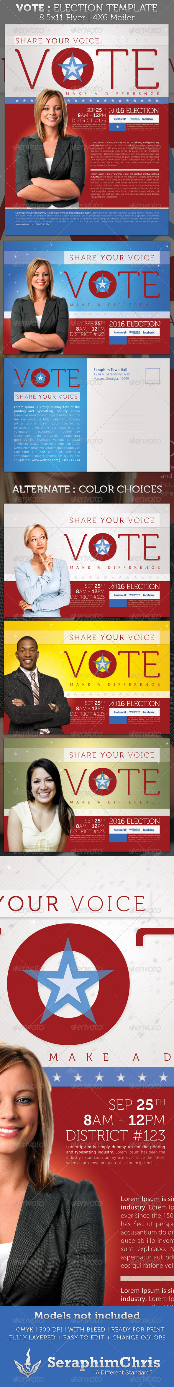 campaign mailer template - campaign letters for re election