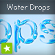 Water Drops text effect - ActiveDen Item for Sale