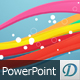 Waves In Colors - Professional PowerPoint Template - GraphicRiver Item for Sale