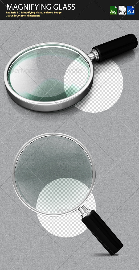 GraphicRiver Magnifying Glass 1872257