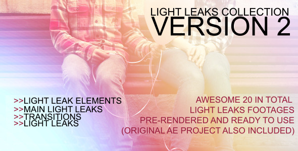 VideoHive LIGHT LEAKS COLLECTION 2 1744767
