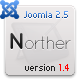 NORTHER - Professional Business Joomla 1.6 Theme - ThemeForest Item for Sale