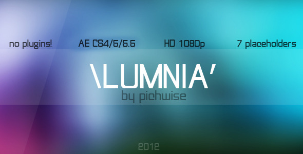 After Effects Project - VideoHive Lumnia 1482096