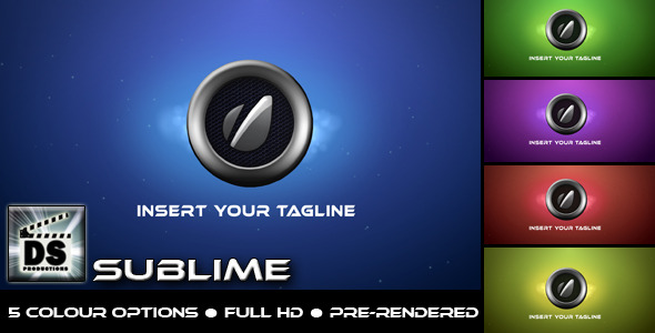 After Effects Project - VideoHive Sublime 1856155