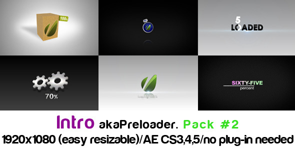 VideoHive Intro akaPreloader Pack#2 1876493