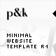AS2 XML Minimal Website Template R1 - ActiveDen Item for Sale