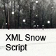 XML Snow Script (AS3) - ActiveDen Item for Sale