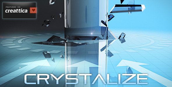 After Effects Project - VideoHive Crystalize 156753