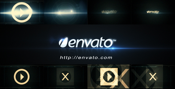 After Effects Project - VideoHive Futuristic Logo Opener 222731