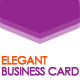 Elegant Business Card - GraphicRiver Item for Sale