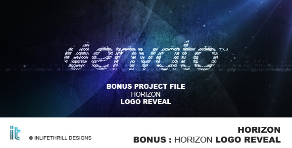 After Effects Project - VideoHive Horizon 223026