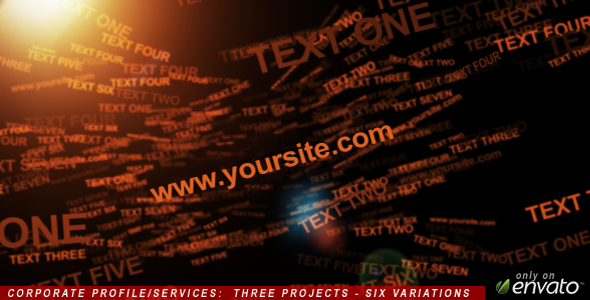 After Effects Project - VideoHive Corporate Profile Services 213116