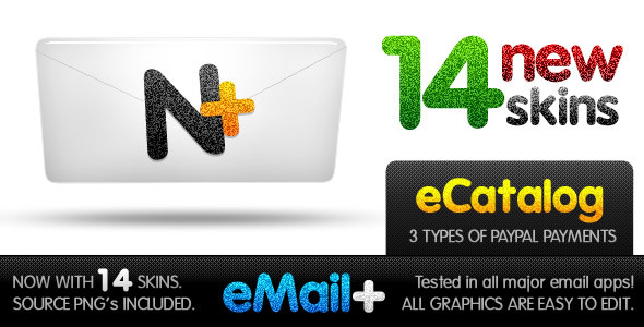ThemeForest Blog Mail Marketing Email Templates Newsletters 72146