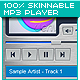 100% Skinnable MP3 Player - ActiveDen Item for Sale