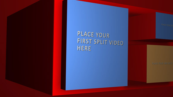 After Effects Project - VideoHive Box Transition 223670