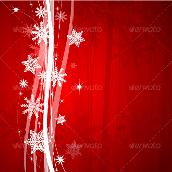 GraphicRiver Christmas background 73669