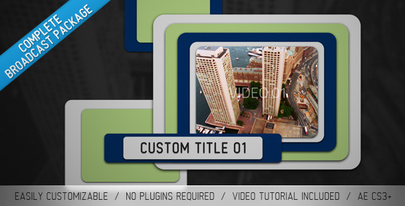 VideoHive Sliders Broadcast Package 1909326