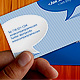 Clean and Cool Blue Business Card - GraphicRiver Item for Sale
