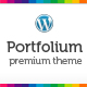 Portfolium - Clean Wordpress Theme (CMS) - ThemeForest Item for Sale