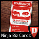 NINJA Business Cards - GraphicRiver Item for Sale