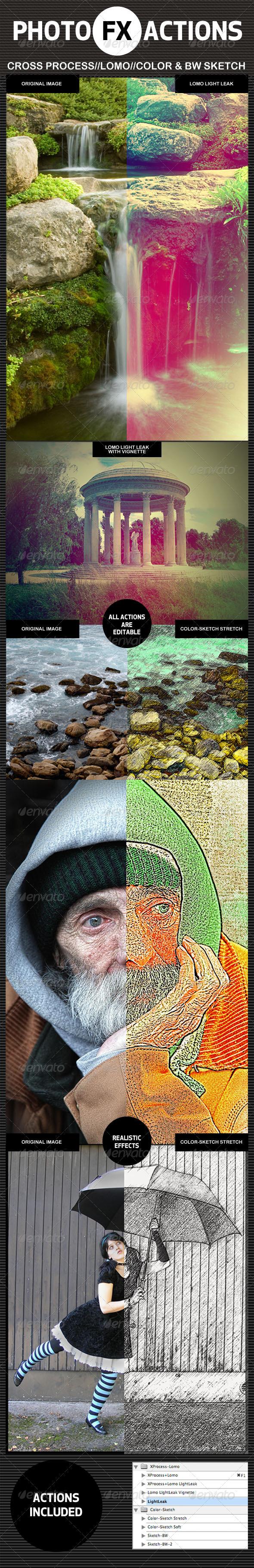 GraphicRiver Photo-FX-Actions 1580735
