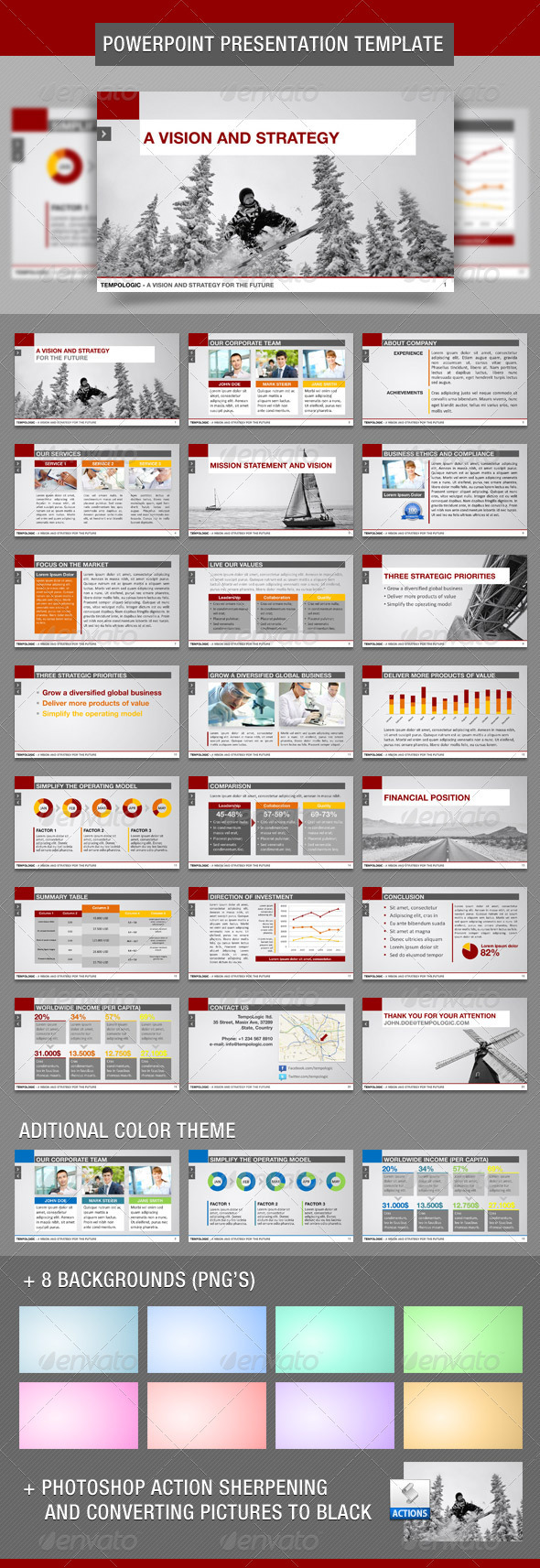 GraphicRiver TempoLogic PowerPoint Template 1823968