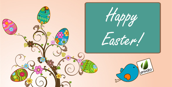 After Effects Project - VideoHive Animation Of The Tree With Easter Eggs Or ...
