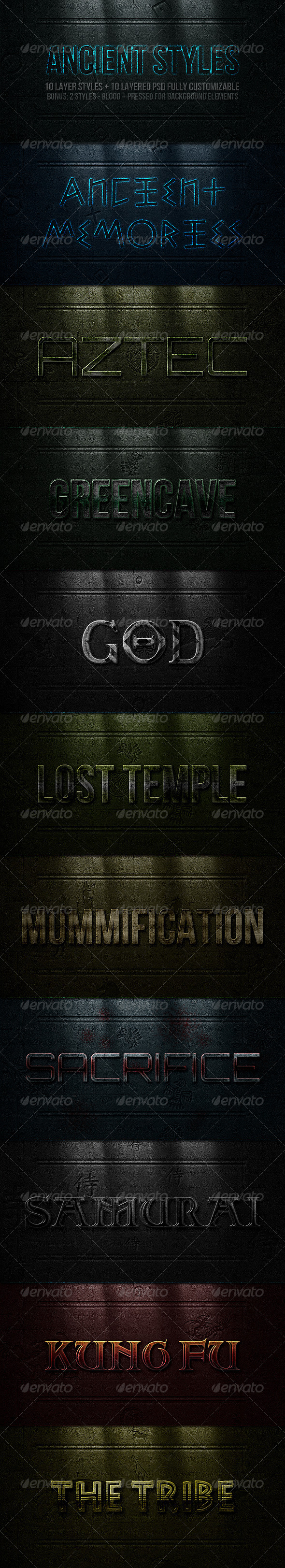 GraphicRiver Ancient Styles 1929611