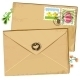 Easter envelope and stamps. - GraphicRiver Item for Sale