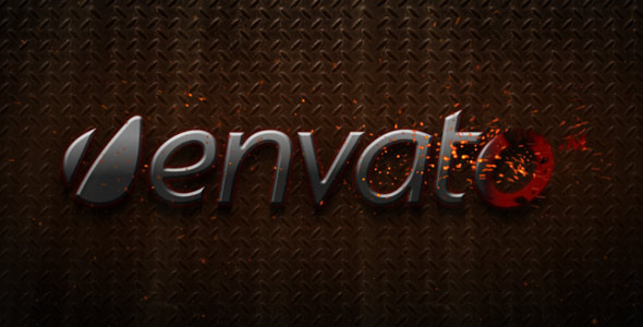 VideoHive Cinematic Metallic Fiery Reveal 1932089