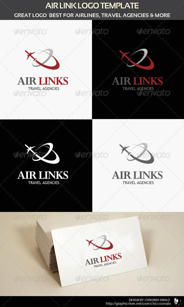 GraphicRiver Air Links Logo Template 1933656