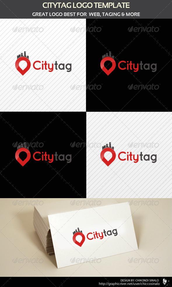 GraphicRiver City Tag Logo Template 1933685