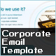 CORPORATE EMAIL TEMPLATE - ThemeForest Item for Sale
