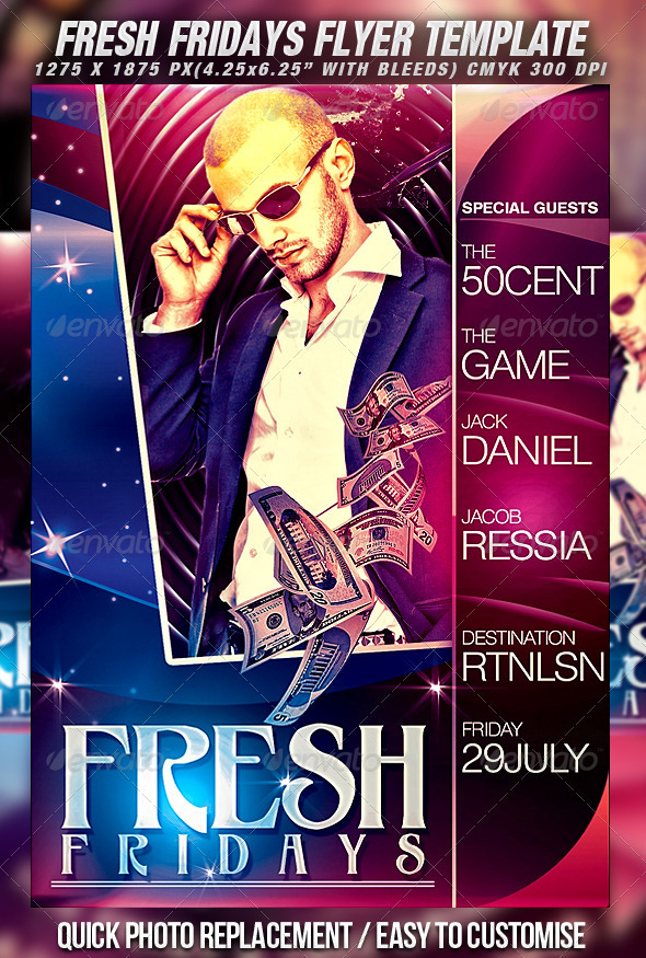 GraphicRiver Fresh Flyer Template 455912